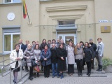 International Erasmus+ Project - Lithuania 2015